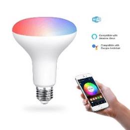 SS WFB RGBWW 11W smart R95 led bulb wifi color changing